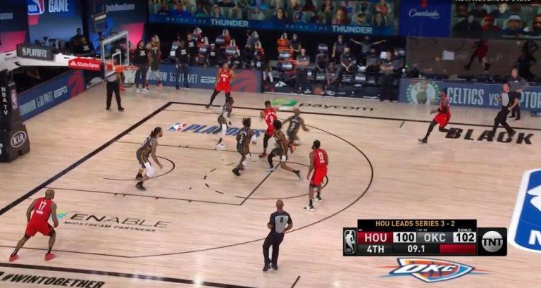 【影片】威少致命失誤時,保羅在幹什麼?慢鏡頭顯示,這預判能力太強了! – 黑特籃球-NBA新聞影音圖片分享社區