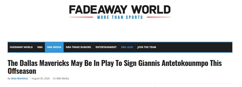 美媒:被快艇淘汰之後,Cuban決心要在休賽期將字母哥帶到獨行俠!-黑特籃球-NBA新聞影音圖片分享社區