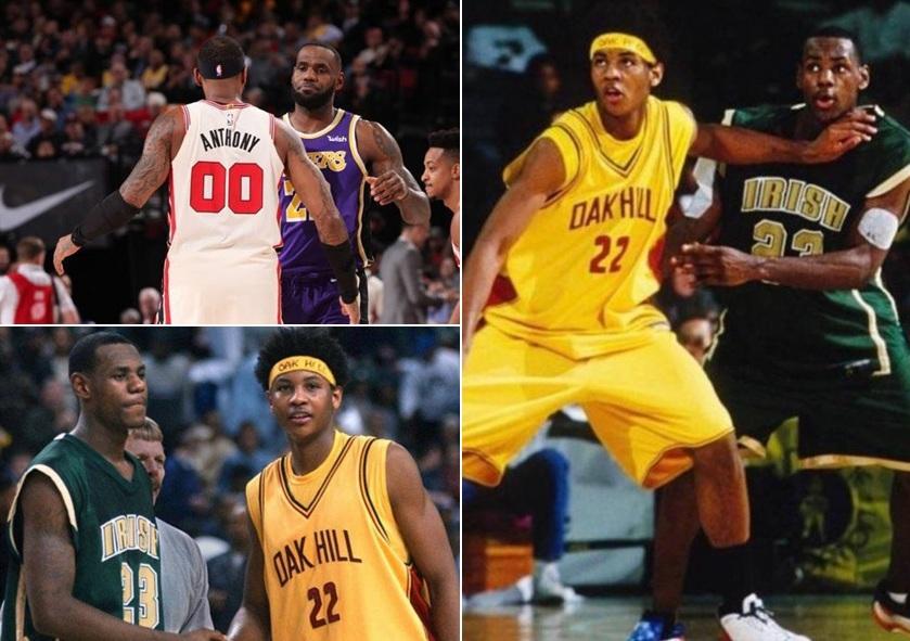 令人感慨!詹姆斯曬18年前和甜瓜的合照:安東尼還是殺手,餘生會繼續競爭下去!-黑特籃球-NBA新聞影音圖片分享社區