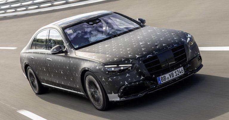 W223 Mercedes-Benz S-Class to get M256 3.0L inline-six, M176 4.0L EQ Boost mills; 6.0L V12 for Maybach