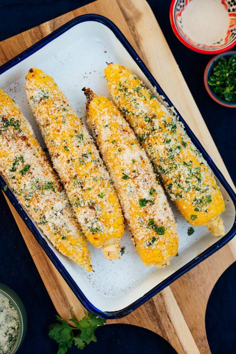 Elote Recipe (Mexican Street Corn)