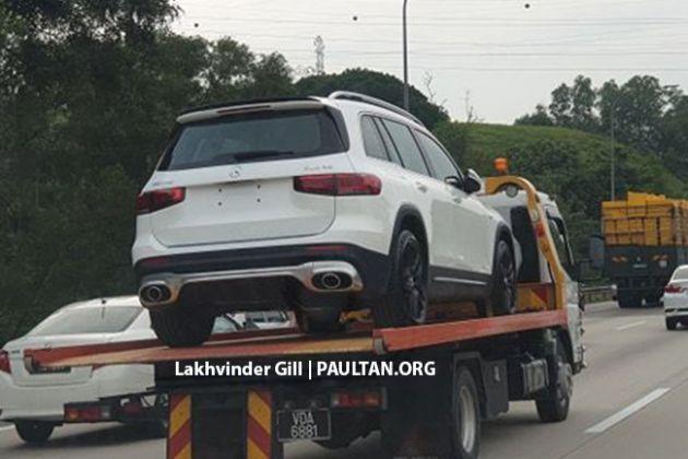 SPYSHOTS: X247 Mercedes-AMG GLB35 in Malaysia