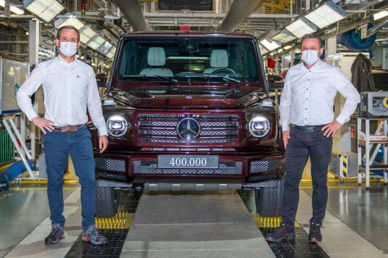 Mercedes-Benz rolls out 400,000th G-Class from Graz