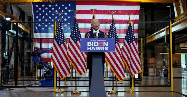 Biden Asks Voters: 'Do You Really Feel Safer Under Trump?'