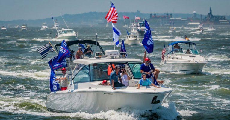 'Several Boats' Sink at Trump Boat Parade in Texas