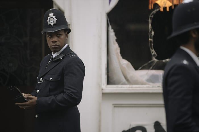 John Boyega in 'Red, White and Blue'