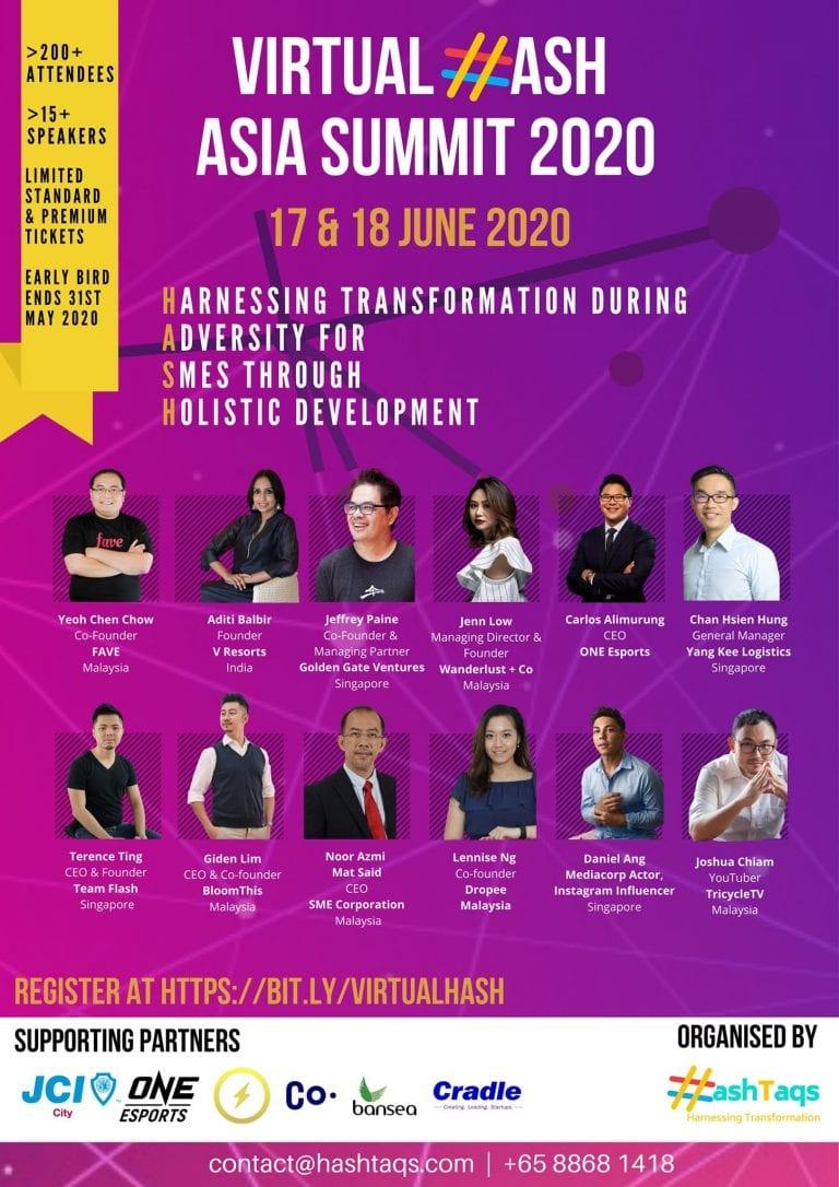Virtual HASH Asia Summit 2020
