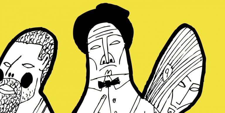 Illustrators depict their perfect self-isolation scenario