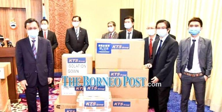 Sabah CM thanks KTS for second batch of PPE