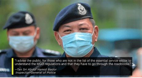 Stop blaming the police for roadblocks