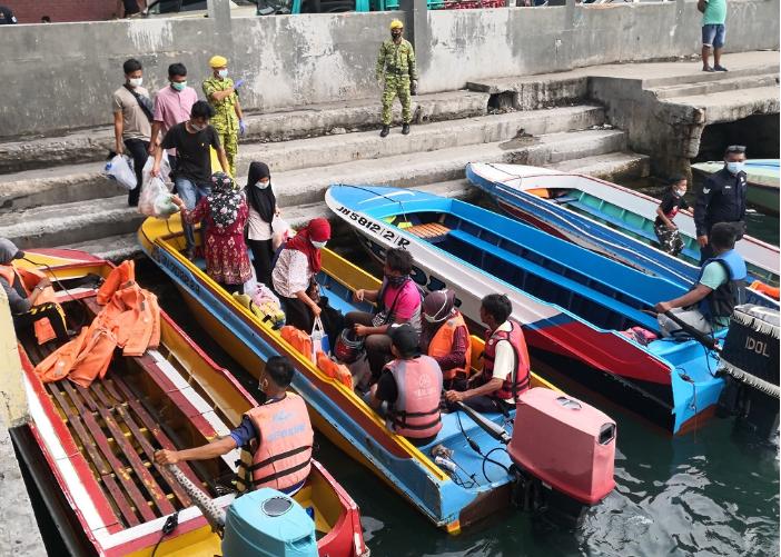 10 boats given nod for Pulau Gaya-KK operations