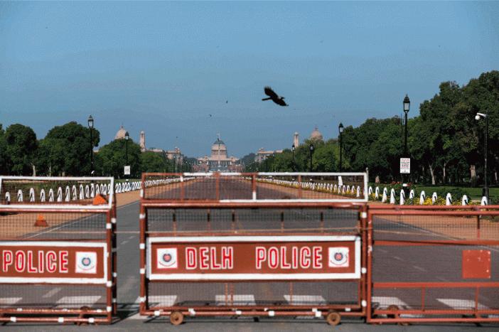 Locked-down Delhi revels in fresh air and blue sky
